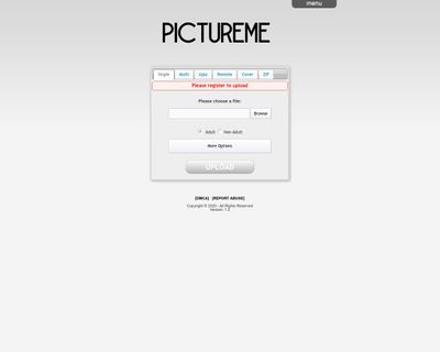 Image Hosting (pictureme.xyz)